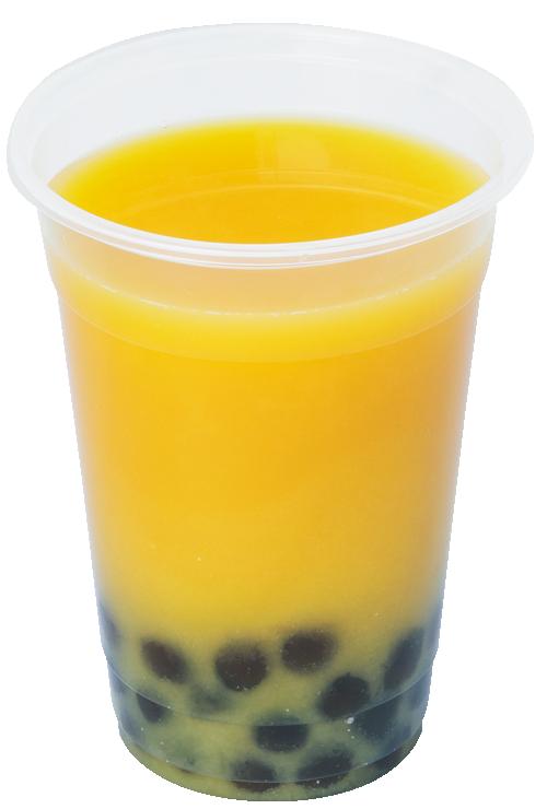 特濃オレンジジュース 100%+